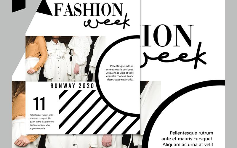 fashion week design template